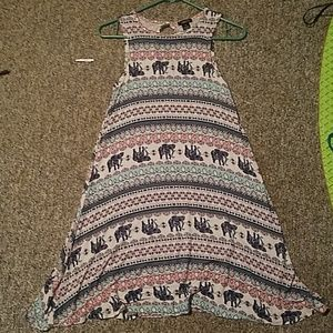 Multi colored/pattern dress